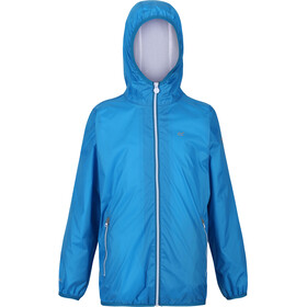 Regatta Lever II Waterproof Shell Jacket Kids, blue aster